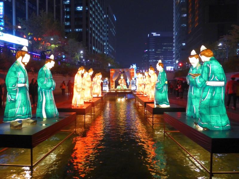 festival lanterne lungo il Cheongyecheon