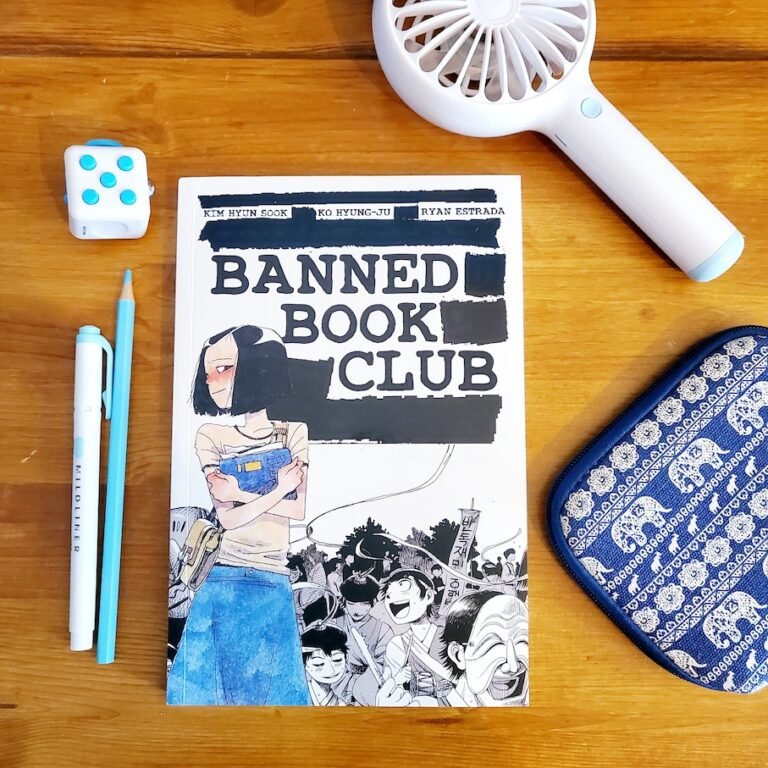 banned book club graphic novel